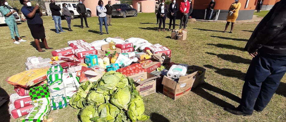 Handover of Groceries in need at Nomzamo Special Care Centre for the disabled